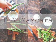 DIY MASCARA // Zero Waste and All Natural - YouTube