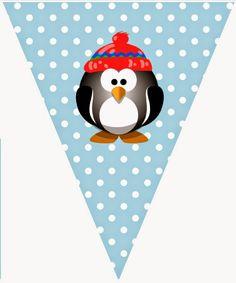 BulutsMom: Penguen Temalı Doğum Günü/ Hoşgeldin Bebek Süslemeleri