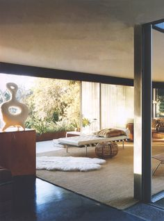 hausdurchsuchung:  vogue us jan 2008 interior design netto home los angeles richard neutra architecture