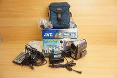 JVC GR-DVX400EK Digital Video Camera MiniDV Handycam Remote Control Charger Etc    eBay Power Led, Video Camera, Camera Photography, Remote, Good Things, Digital, Shop, Ebay, Store