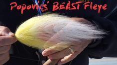 Bob Popovics ties his own Beast Fleye - and it IS a beast! Fly Fishing Gear, Fishing Kit, Pike Fishing, Best Fishing, Crappie Jigs, Pike Flies, Fly Casting, Saltwater Flies, Salmon Fishing
