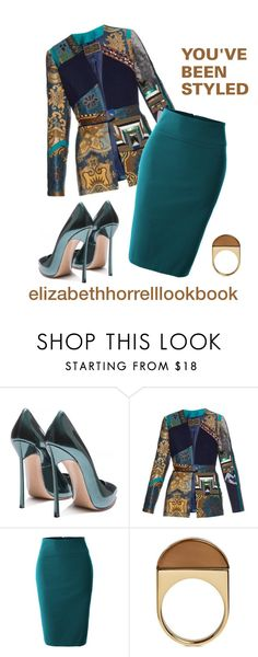 LIZ by elizabethhorrell on Polyvore featuring Etro, LE3NO, Chloé and Casadei
