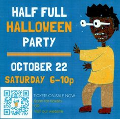 Half Full Brewery would like to invites all Wescott residents to their 4th Annual Halloween Party!   The event is Saturday, October 22 from 6–10p 43 Homestead Ave. Stamford, CT 06902 Join Half Full for open beer taps, a costume contest, HAPA & Nosh Hound Food Trucks, and live music from Oh, Cassius!   This Halloween party grows every year, and this one promises to be the biggest and most fun to date.