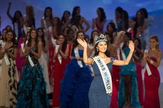 Miss China Crowned Miss World 2012