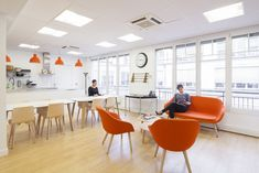 Mobilitis has designed the new offices of a storage solution leader, Scality, located in Paris, Place de la Madeleine.