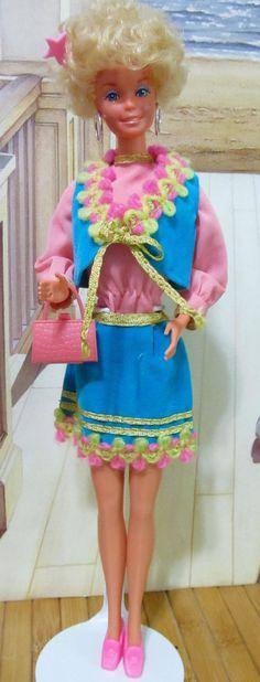 Vintage Barbie Bendable Legs Bubble Cut Mattel by DressMeDoll
