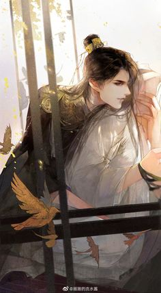 Anime Art Girl, Manga Art, Anime Guys, Magic Anime, Chinese Artwork, Fantasy Art Men, China Art, Cute Chibi, Boy Art