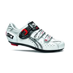 With the most detailed and advanced fit adjustment mechanisms available on a cycling shoe, the Sidi Genius Carbon Road Shoe delivers amazing fit, and comfort throughout any challenge. Road Cycling Shoes, Performance Cycle, High Street Stores, Bike Shoes, Running Gear, Velcro Straps, Sports Equipment, Carbon Fiber, Cleats