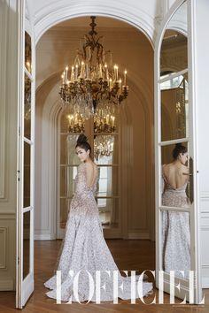 Dream Gowns: Chompoo Araya A. Hargate - L'Officiel Thailand - ELIE SAAB Haute Couture #Wedding