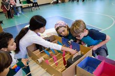 Try this: Kids at Friends' Central School in Philadelphia incorporate user-centered design to create games based on ancient and modern cities.