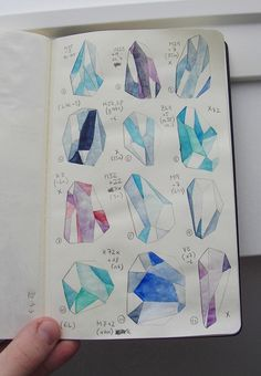 how to draw crystals - Google Search