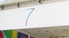 Apple Lovers — iOS 7 Is Coming, Banners Up At WWDC 2013 Venue In San Francisco