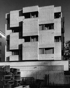 "Peppo Brivio (photography by Alberto Flammer) see map "" Lugano, Brutalist, Switzerland, Architecture Design, Concrete, Sculpture, Abstract, World, Artwork"
