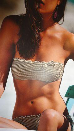 Verdissima 2016 Bikini fascia con ferretto Costume da bagno donna oro