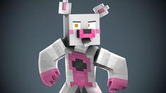 Fnaf Minecraft, Sister Location, Diy Crafts Hacks, Five Night, Nintendo Games, Cube, Animation, Make It Yourself, Cool Stuff