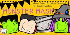 Monster Mash Whole Group Flipchart for Kindergarten!