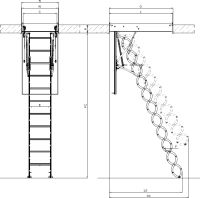 Attirant Attic Stairs | Skywin   Fakro Attic Stairs, Attic Stairs, Scissors, LST  Scissors
