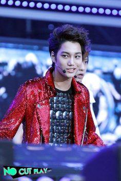 You smile, I smile <3 - KAI EXO