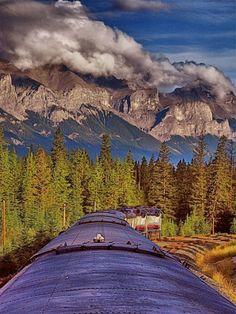 Train through the Canadian Rockies - Banff To Vancouver | Alberta / British Columbia, Canada
