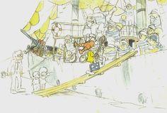 Sketches for Hayao Miyazaki's Cancelled PIPPI LONGSTOCKING Anime | Nerdist