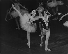 Cynthia Gregory as Odette and Rudolf Nureyev as Prince Siegfried in Swan Lake. Photo: Martha Swope / ABT ©