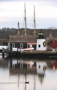 Christmas at Lighthouse Point, Mystic Seaport