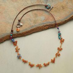 CARNELIAN CLUSTERS NECKLACE: View 2