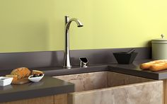 Zero Touch Faucets by Muirsis Modern, Home Decor, Kitchen, New Kitchen, Modern Faucet, Sink