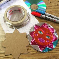 Metal Tooling Sun (Art Projects for Kids) Art Lessons For Kids, Art Lessons Elementary, Projects For Kids, Art For Kids, Art Projects, Feuille Aluminium Art, Aluminum Foil Art, 5th Grade Art, Third Grade
