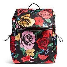 Vera Bradley Lighten Up Drawstring Backpack Gym Backpack, Jansport Backpack, Drawstring Backpack, Vera Bradley Luggage, Vera Bradley Backpack, Luggage Store, Luggage Sets, Vanz, Backpacks For Sale