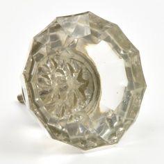 Jumbo Crystal Cut Cupboard Knob
