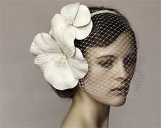 Wedding hairstyle accessory