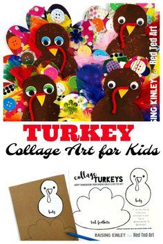 Cardboard Turkey Cra