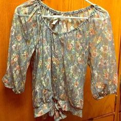 American Rag Tops - Laced blouse