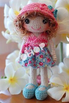 Miss Suri crocheted doll by my mum   OHOPSHOP   We love handmade!.