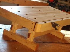 Small Woodworking Projects That Sell – WoodworkeRealm Jet Woodworking Tools, Small Woodworking Projects, Woodworking Workbench, Woodworking Crafts, Wood Projects, Small Workbench, Portable Workbench, Workbench Plans, Build Your Own Garage