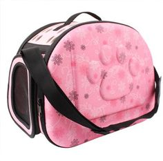 Chihuahua Small Dog Travel Pet Carrier Folding Carry Case Pink Floral – My Chi and Me