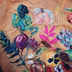 Embroidery by Marna Lunt | Craftiosity Meet the Maker Interview