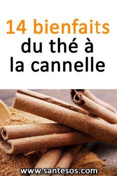 14 bienfaits du thé à la cannelle #théalacannelle #thé #thénaturel #santé Sante Plus, Nutrition, Herbalife, Home Remedies, Tea Time, Smoothies, Detox, Spices, Health Fitness