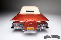 1960 Chevrolet Impala Convertible Rear View 1960 Chevy Impala, Chevrolet Impala, Lo Rider, Rear Speakers, Custom Tanks, Crate Engines, Sports Sedan, Us Cars, Bel Air