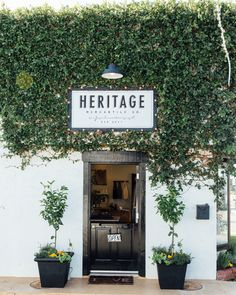 restaurant fachada [En direct] Shop tour: heritage mercantile co.