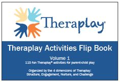 Theraplay activities flip book