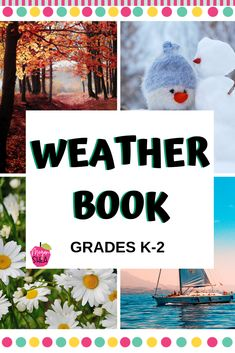 This is a great way for students to observe and learn about weather as well as seasons! Seasons Activities, Pre K Activities, First Grade Activities, Teaching First Grade, First Grade Teachers, Kindergarten Classroom, Kindergarten Activities, Classroom Activities, Elementary Science Classroom