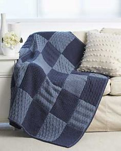 Ravelry: Sampler Blanket pattern by Bernat Design Studio