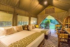 warm from the inside. Tent Camping, Glamping, River Camp, Resorts, Thailand, Warm, Luxury, Bed, Furniture