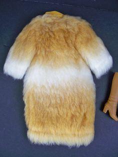 New Barbie Doll Fashions Vintage 1971 1972 Mod Fun Fur Coat Boots 3434 | eBay
