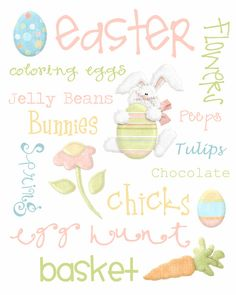#Easter printable