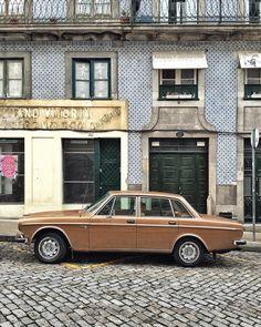 . Classic Palette - #porto #portugal #oporto #city #citylife #street #liveauthentic #vintage #realvintage #classic #car #man #manstyle #color #pantone #tileaddiction #azulejos #travel #wanderlust by xaviquesada