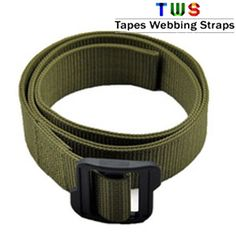 Try our brand new military belt straps.  For more details click on the below link or call us on +9833884973/9323558399  http://tapeswebbingstraps.in/  Courtsey : Tapes Webbing strap