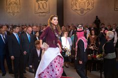 Pin for Later: Queen Rania's Independence Day Dress Makes Us Reconsider Those Denim Shorts